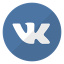 Logo, website, Vk SteelBlue icon