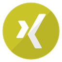 Logo, Xing Goldenrod icon
