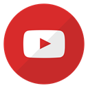 youtube, videos, website, watch, Logo Crimson icon