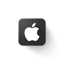 Apple, Logo Black icon