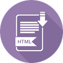 Folder, document, paper, html, Extension Icon