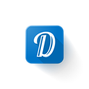 Logo, Diply Black icon