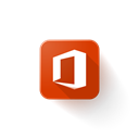 microsoft, office, Logo Black icon