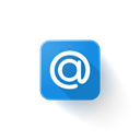 mail, Logo, ru, Mailru Black icon