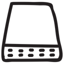 storage, electronic, webserver, Server, Database, Computer, Data Black icon