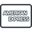 american, ecommerce, credit, express, payments, send, Money DarkSlateGray icon