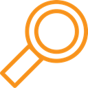 microscope, scan, asset, magnifying glass, magnify, lens Black icon