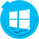 windows, microsoft, social media, socialmedia, windows logo, windows icon DeepSkyBlue icon