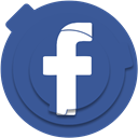social media, Social, socialmedia, media, network, Like, Facebook DarkSlateBlue icon