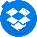 network, dropbox, Cloud, share, storage, dropbox logo, Dropbox icon DodgerBlue icon