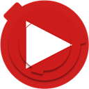 media, video, play, Social, youtube, social network, youtube icon Firebrick icon