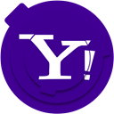 media, network, yahoo, Social, Communication, yahoo!, yahoo logo Indigo icon