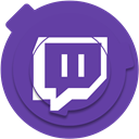 twitch.tv, twitch.tv icon, twitch icon, media, network, Social, Twitch DarkSlateBlue icon