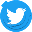 media, twitter, bird, Social, tweet, socialnetwork, socialmedia DodgerBlue icon
