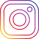photo, round, Social, Instagram Black icon