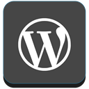 blog, Wordpress, website, Blogging DarkSlateGray icon