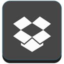 Box, dropbox, Cloud, storage DarkSlateGray icon