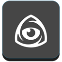 Logo, Eye, market, Iconfinder DarkSlateGray icon
