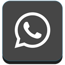 App, Social, Whatsapp, media, network, phone DarkSlateGray icon