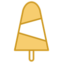 food, Snow, Dessert, sweet, Ice cream Black icon