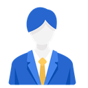Man, Business, work, Officer, Businessman RoyalBlue icon