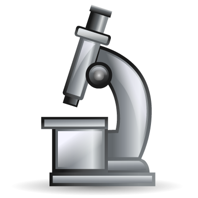 biology microscope science icon biology microscope science icon