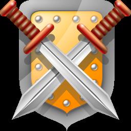 Shield Swords Icon