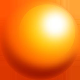 Ball Orange Sphere Icon