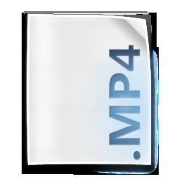 Mp4 Mpeg4 File Icon