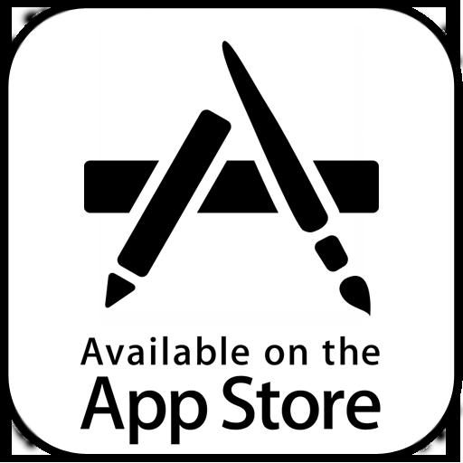storre on apple app store logo app application