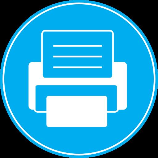Fax Printer Icon