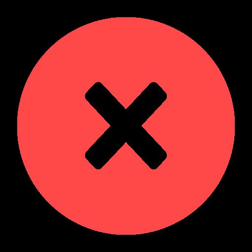 exit delete close remove cancel dismiss recycle icon remove cancel dismiss recycle icon