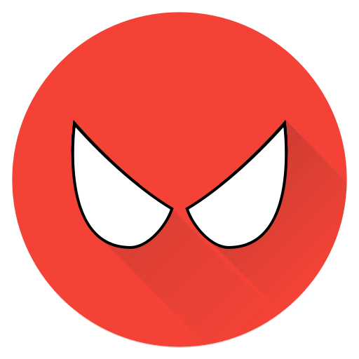 Hero Man Superhero Saver Spiderman Super Spider Icon