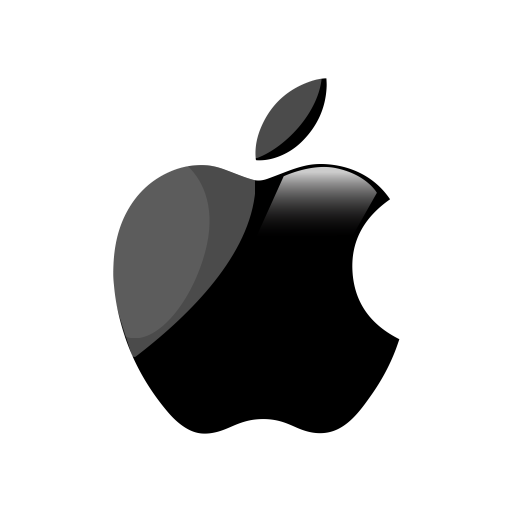 Black apple logo png images galleries with a bite - Apple icon x ...