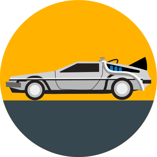 Back To The Future Time Travel Logo