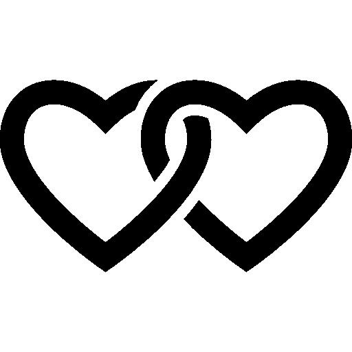 Lovers, Social, lover, Heart, lovely, loving icon