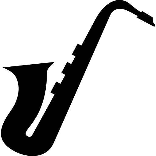 saxophone silhouette musical instrument music instrument rh shareicon net saxophone pictures clip art saxophone player clip art