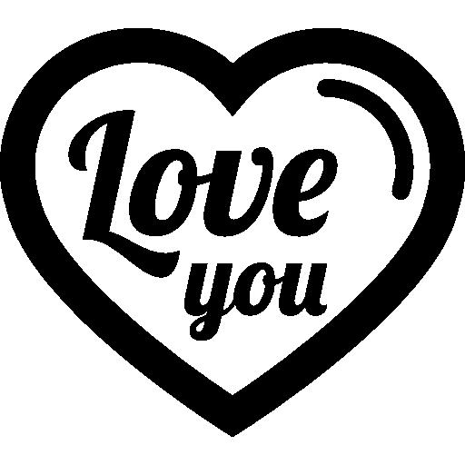 Words Text Heart Love Shape Romance Love You