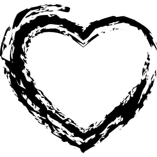 Heartbeat Png Transparent Black: Heartbeat, Outline, Symbol, Heart, Shapes, Hearts, Shape