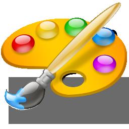 Paleta icon - Paleta de colores para pintar ...