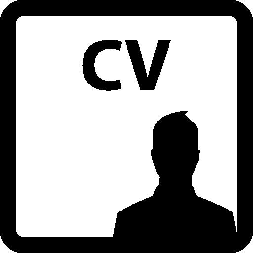 Curriculum Vitae Interface Curriculum Symbol Square Vitae Man