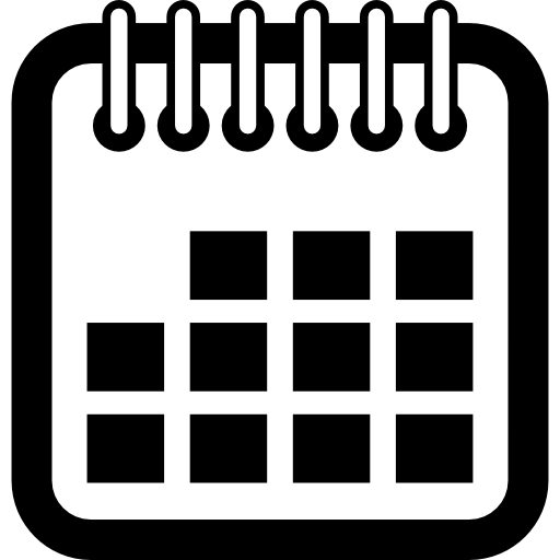 Blank Calendar Icon Png : Spring symbol squares interface time square calendar