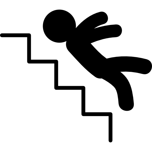 Person Falling Down People Fall Down Stairs Nasty