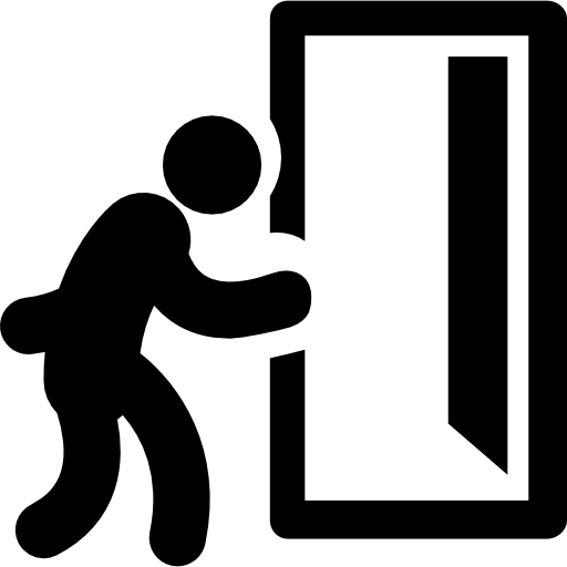 Man, Exit, Doors, People, Door , Walking, Opened, Daily Job