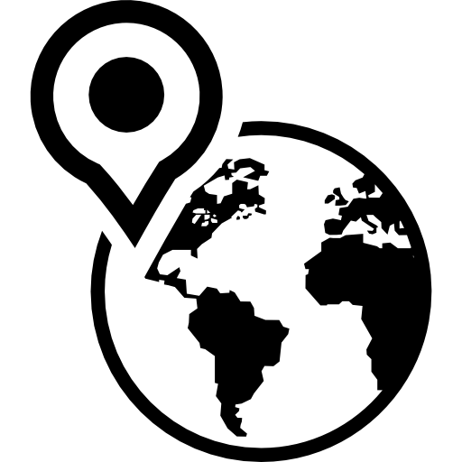 North America Map location placeholder earth Maps And Flags