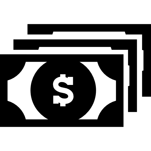 Dollar Bill Bills Dollars Value Business Commercial Money Icons Commerce Icon