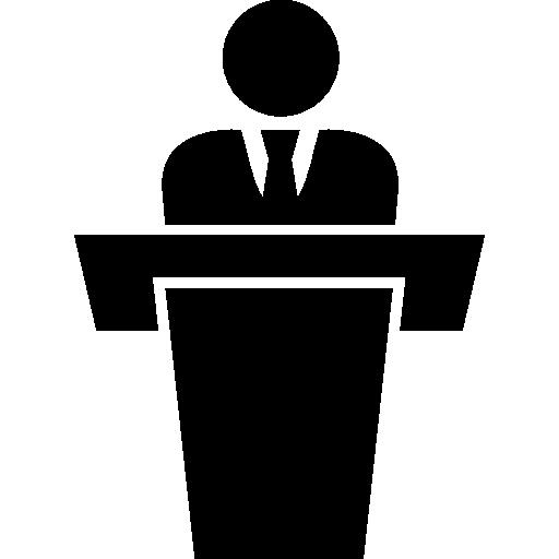 Election Businessman Speech Worker Workers People