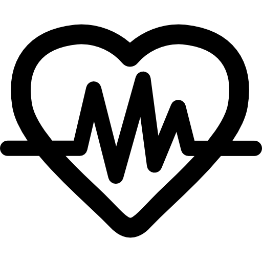 Lifeline Medical Symbols Symbol Fitness Forever Hearts Heart Icon