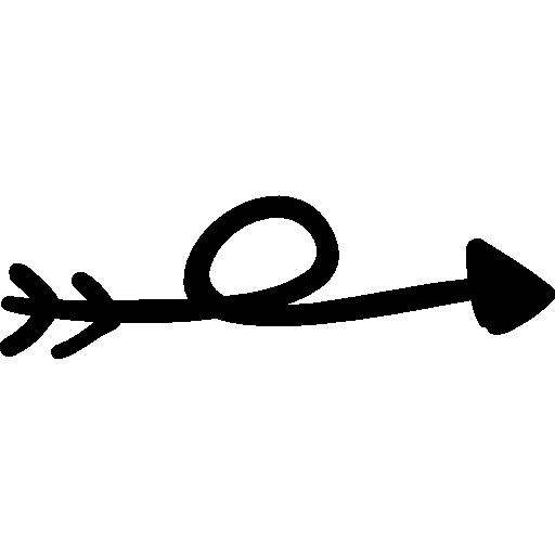Edit A Line Or Arrow Line Arrow Wordart Picture Clip: Trajectory, Right Arrow, Rotate, Arrows, Direction