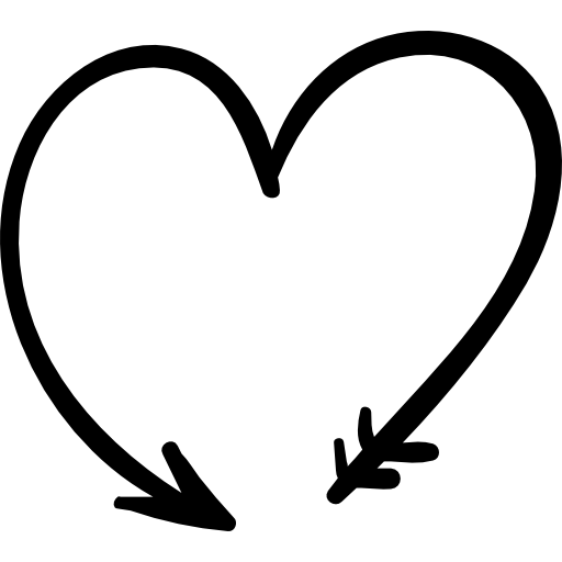Lover Heart Passion Emotion Shapes Icon